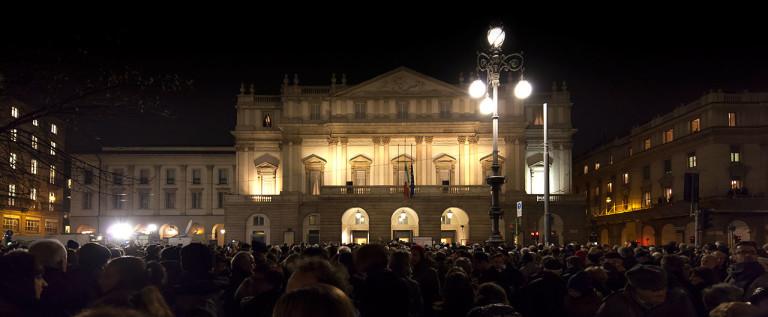 Milano rende omaggio ad Abbado